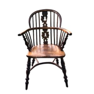 Antique Windsor Spindle Armchair