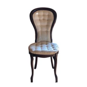 Victorian Tufted Side Chair