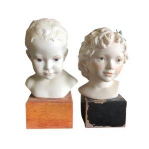 Cybis Porcelain Busts