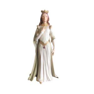 "Vintage Cybis Queen Esther Porcelain Figurine 13"" Limited Edition 1974"