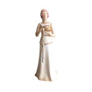 Cybis Lady Macbeth Porcelain Figurine Statue