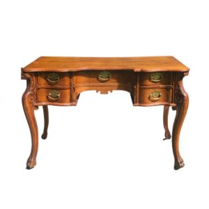 Vintage Desk with Claw Feet