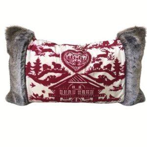 Pierre Frey Pillow, Fur