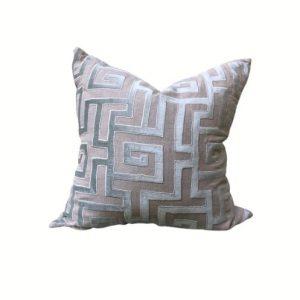 Lili Alessandra Greek Key Pillow