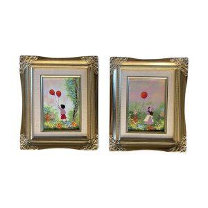 Cardin Enamel Paintings